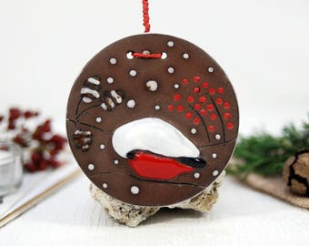 CHRISTMAS ORNAMENTS christmas tree decorations christmas decorations bird ornaments ceramic birds hanging decorations christmas home decor