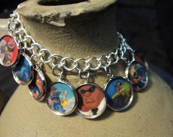 Disney's Lilo and Stitch charm bracelet