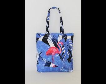 Beach Bag,Totes,Flamingo Totes Bag,Summer,Flamingo print,Totes,Gift for Girlfriend,Gift For Woman, Beachwear, Summer Accessorize,Summer 2018