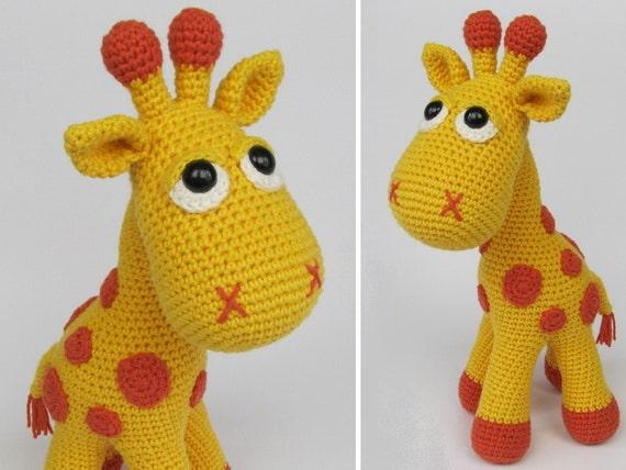 Amigurumi Tutorial Animali : Giraffa neli amigurumi crochet pattern pdf e book