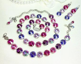 Swarovski Crystal Jewelry Handmade Custom Jewelry by CathieNilson