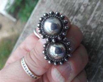 Sterling Silver Screw On Earrings