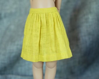 iMda 3.0 BJD linen skirt - yellow