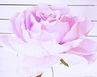 giant, PURPLE GIANT, paper flower, GIANT, crepe paper flower, wedding flower, weddings, giant rose, rose,