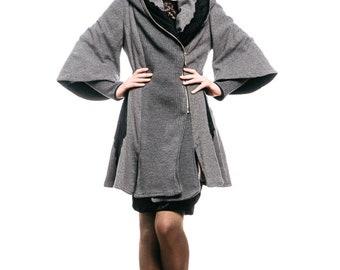 Spring Coat Grey Bell