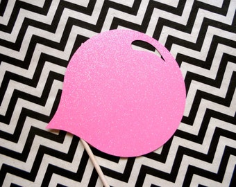 Glitter Bubble Gum Bubble Photo Booth Prop . Gum Photo Booth Prop . Photo Booth Props . Bubble Gum Bubble . Bubble Pink . Glitter . Single