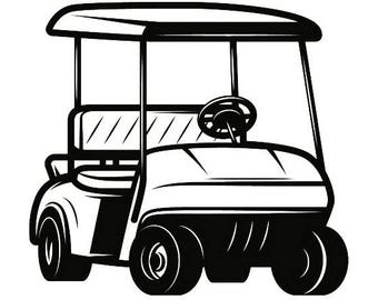 golf cart clip art etsy rh etsy com golf cart clip art images clip art golf cart t-shirts designs
