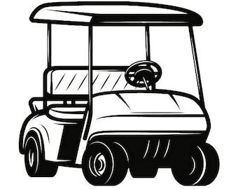 golf cart clip art etsy rh etsy com golf cart clip art images golf cart clip art images