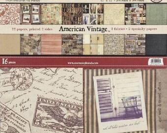 7gypsies American Vintage 8x8 Paper Pad (48sheets)