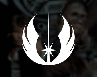 Star Wars - Jedi Order Insignia Decal Vinyl