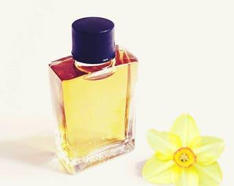 """Daffodil perfume, Natural Perfume oil """"Poetes Fleur"""" Fresh Floral, Green, Rare Jonquilla, Soil, Essential oils, 5 ml"""