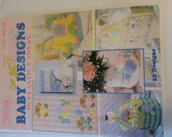 Plastic Canvas Leaflet Baby Designs