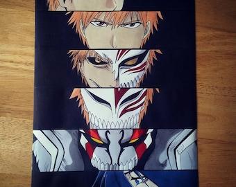 Anime Eyes: Ichigo - Bleach Print
