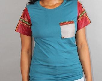 Chenayii Tealank T-shirt