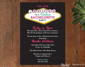 Vegas invitation etsy las vegas bachelorette party printable invitations casino birthday party invitations bachelorette party girls night stopboris Choice Image
