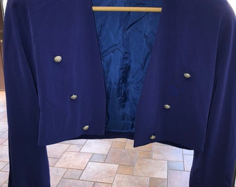 D'ore Bolero Jacket in Electric Blue