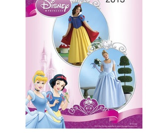 Simplicity 2813 Disney Snow White & Cinderella Princess Costumes for Misses
