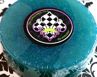 Mermaid Ladies Shaving Soap – Aloe Vera & Hemp Oil Soap With Tea Tree Oil, Clay, and Calendula Extract - By Starlight Limited Edition