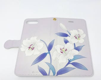Cell Phone Case - Lily / Lavender