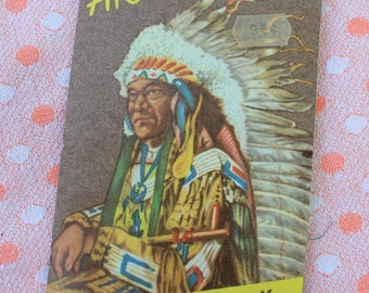 Vintage Akra Needle Book, Indian Chief