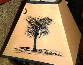 Palmetto Tree Lampshade
