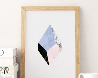 Marble Print, Minimalist print, Nordic Style, Office Decor Wall Art, Marble Artwork, Abstract Art Print, Wall Decor, Modern Print.