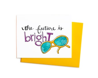 New Year's Greeting Card, The Future is Bright Boxed Set