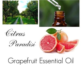 Grapefruit Essential Oil, Grapefruit Oil, Grapefruit Essential Oil Uses -- 100% Pure Authentic Grapefruit Essential Oil