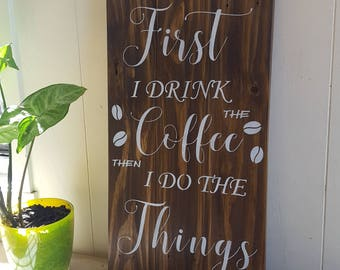 Coffee Signs - because we are all coffee addicts .....