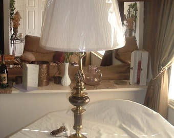 antique brass westwood lamp