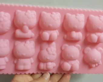 Kitten and Friends Silicone Mold
