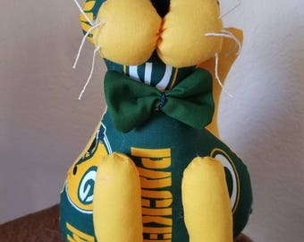 Green Bay Packers Football cat