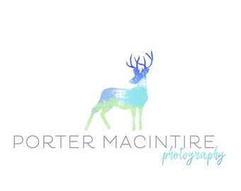 Logo Design Branding, Photography Logo, Small Business Logo, Custom Logo, Logo Design Package, Affordable Logo, Deer Logo, Logo Branding