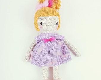 Crochet doll - NonSense and Sensibility