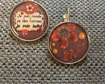 """Earrings """"round and beautiful"""""""
