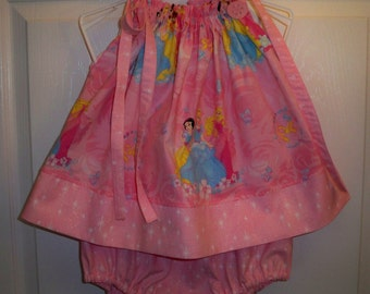 Princess in Pink Pillowcase Top with Headband and Diaper Cover  24 mth - clearance sale 13.99