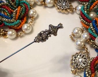 Scarf hijab hat pins stick pins