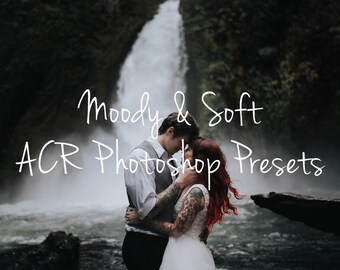 Film Presets: Moody & Soft | ACR Photoshop for Underexposed Images