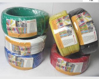 Plastic twist tie spool about 300FT each for Grander Year use - 6 colors