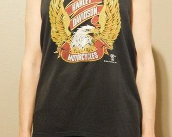 Vintage Harley Davidson Muscle Tee