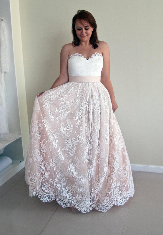 Charmant Erröten Rosa Hochzeitskleid Zeitgenössisch - Brautkleider ...
