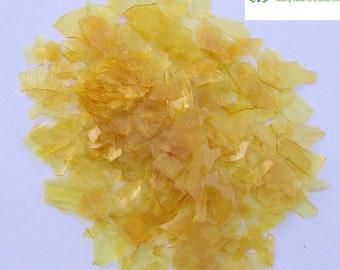Dewaxed Super Blonde Shellac Flakes 1/8 lb, or 2 oz, Quality, Antique Restoration