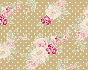 Tilda Apple Bloom Cybill Tan Yellow (Half metre)
