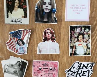 Lana Del Rey stickers - fan/tumblr/indie