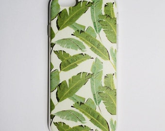 Leaves iPhone 6, and iPhone 7 Case (Soft)