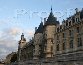 Paris 2009 - La Conciergerie from Seine River
