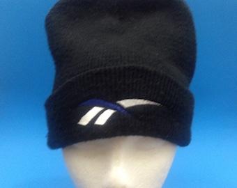 Vintage Reebok Beanie Adjustable Hat 1990s
