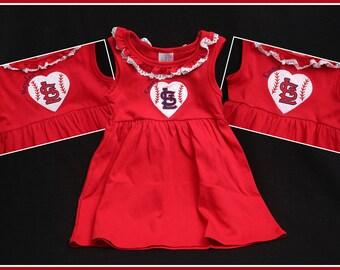 STL Cardinals Dress