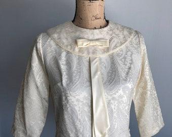 Vintage 1950s Brocade Jacket