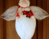 Christmas angel, wool fai...